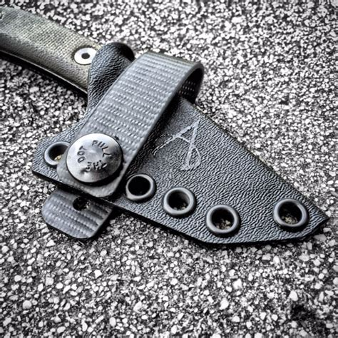 esee candiru leather sheath custom kydex sheath esee candiru