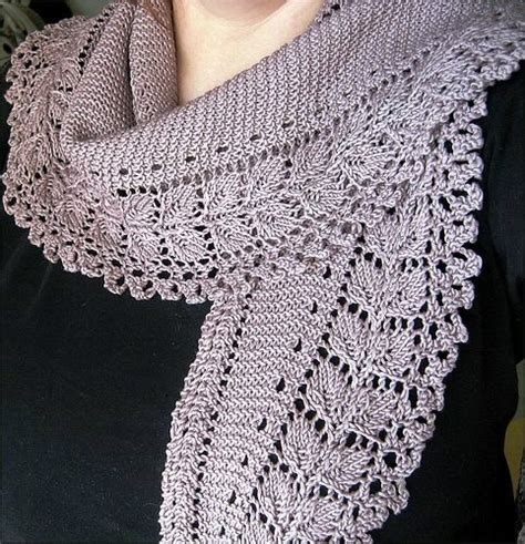 free knit scarf pattern crafts for lace scarf free knitting patterns