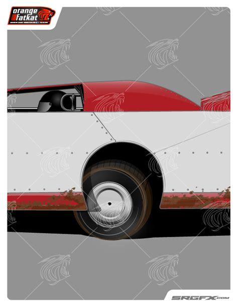 dirt late model graphics template 2014 dynamic dirt late model template school of racing