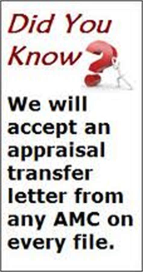 Appraisal Transfer Letter Fha Fha Appraisal Transfer