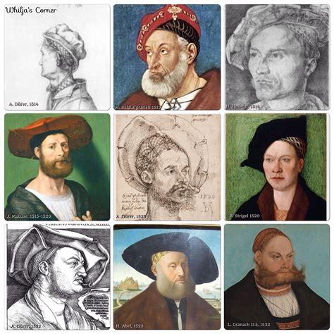16th century men hats haube 171 whilja s corner