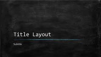 Chalkboard Templates by Chalkboard Education Presentation Widescreen Office
