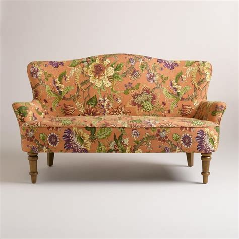 vintage loveseats garrison floral orlina loveseat small spaces