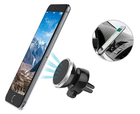 Magnet Stand Holder mini magnetic car phone holder 360 degrees air vent mount
