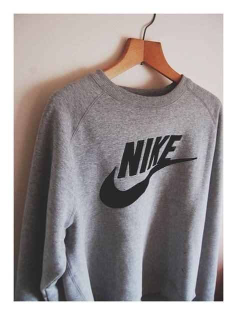Sale Jaket Jumper Nike Hoodie Cf54 sweater nike grey sweatshirt black crewneck jacket