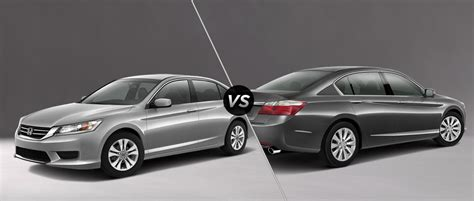 2014 honda accord sport vs ex difference between the honda accord lx and honda accord