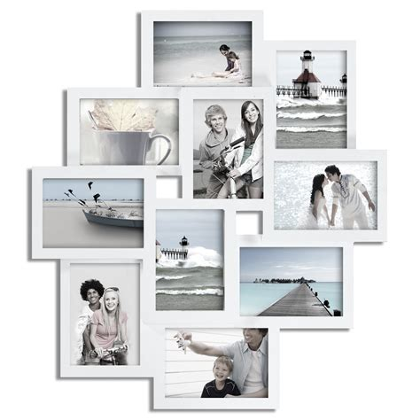 collage picture frames adeco 10 opening collage picture frame pf0172