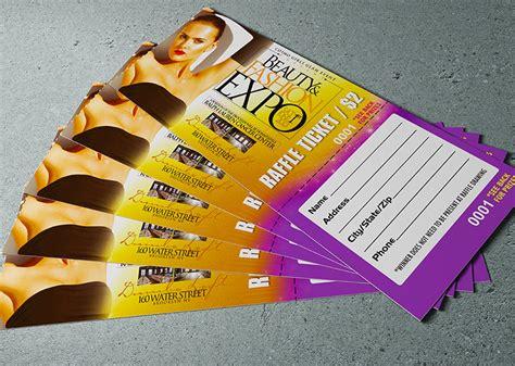 printable tear off tickets tear off raffle tickets raffle ticket standard ticket