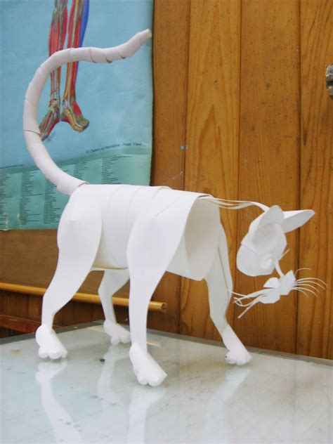 papercraft animal by swordtosoul on deviantart