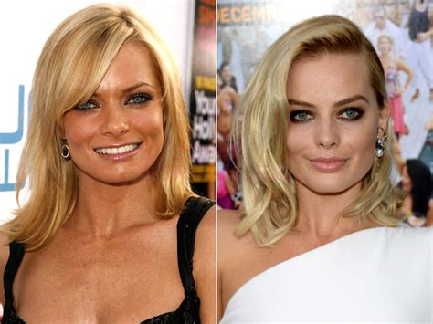margot robbie jaime pressly pictures 26 celebrities who look like other celebrities