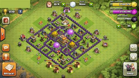 layout coc untuk th 7 defense coc th 7 war myideasbedroom com