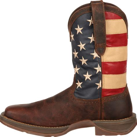 mens rebel flag boots american flag boots rebel by durango s flag western