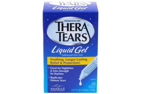 thera tears liquid gel 28 containers