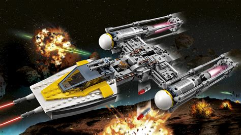 Lego Wars lego wars y wing starfighter 75172