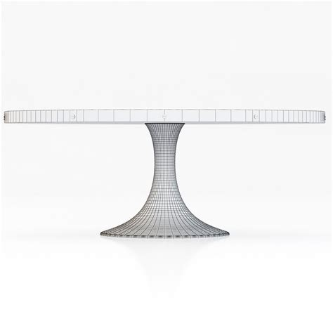 restoration hardware oval dining table restoration hardware aero oval dining table 3d model max