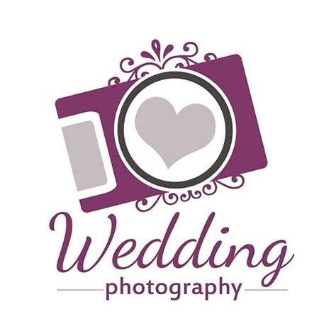 Wedding Photography Logo   Photoshop Templates for