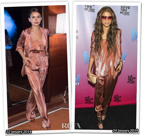 Who Wore Better Carpet Style Awards by Who Wore Gucci Better Miroslava Duma Or Zendaya Coleman