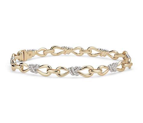gold infinity bracelets colin cowie infinity bracelet in 14k yellow gold