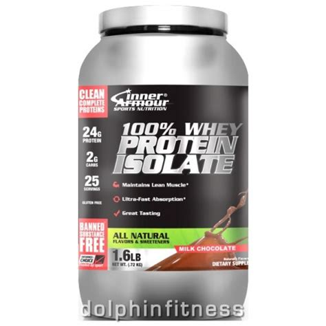 Inner Armour Whey Protein inner armour 100 whey protein isolate all 715g