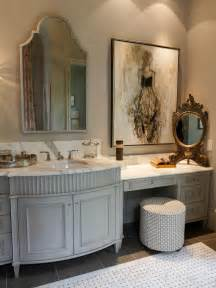 Bronze Bathroom Mirror - french country bathroom photos hgtv