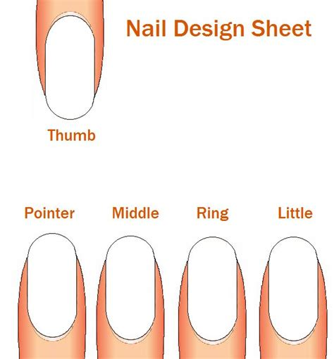 nail shape template 17 best images about nails on nail wall