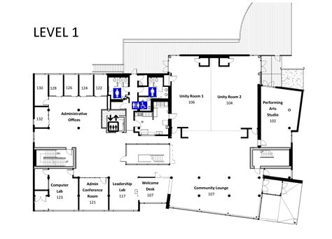 cultural center floor plan floor plans and room layouts and capacity samuel e