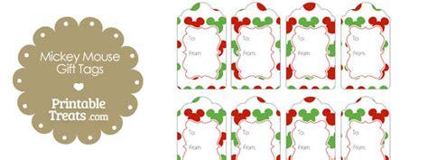 printable christmas tags mickey mouse mickey mouse christmas gift tags printable treats com