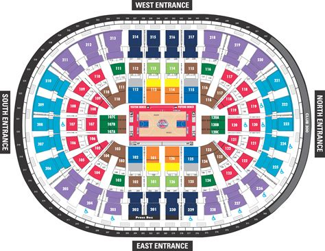 detroit pistons seating plan 3 plus 1 the official site of the detroit pistons