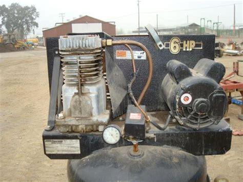 coleman black max 60 gallon air compressor bidcal inc live auctions