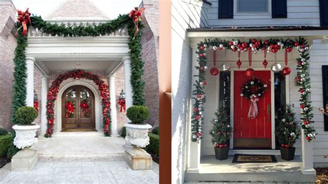 beautiful entrance decoration ideas for christmas ᴴᴰ youtube
