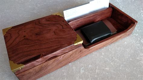 Mens Desk Organizer Desk Organizer Desk Tray Mens Valet Nightstand Tray Book