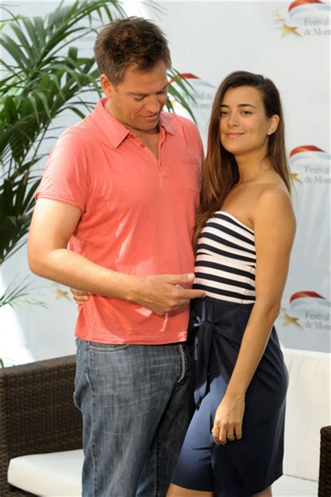 Cote de Pablo Michael Weatherly Photos Photos   50th Monte