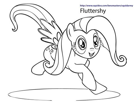 my little pony fluttershy coloring pages az coloring pages