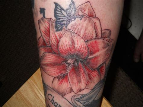 amaryllis tattoo amaryllis design tattoos