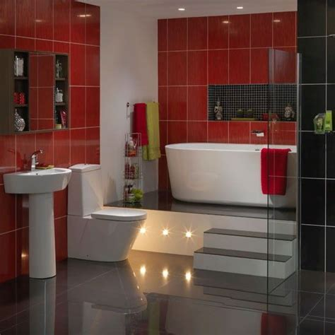 bathroom red tiles 20 bold and hot red bathroom design ideas with pictures