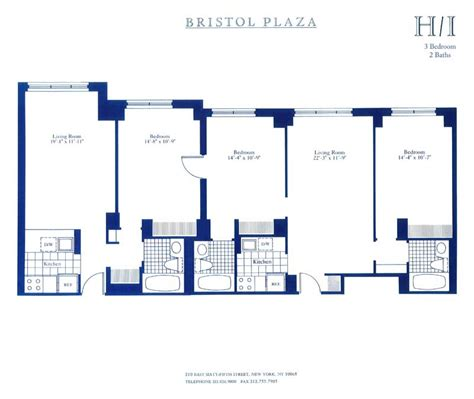 East Midtown Plaza Floor Plans | bristol plaza 200 east 65th street new york ny 10065