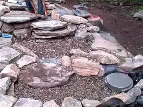 How To Build A Small Backyard Waterfall How To Construct A Pondless Waterfall And Stream In