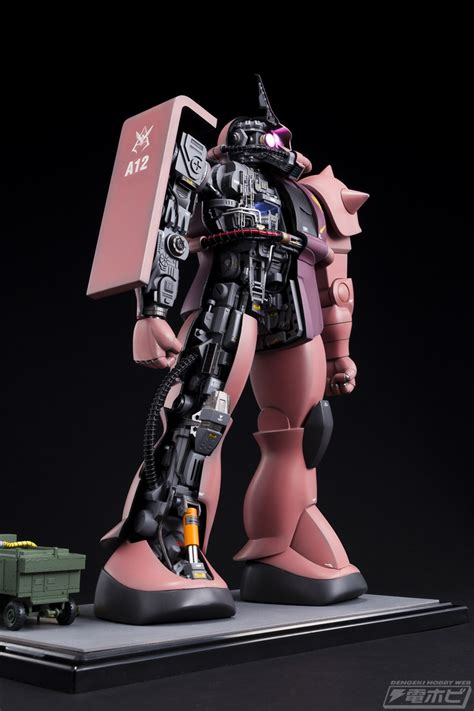 Bandai 1 72 Zaku Mechanical gundam 1 72 char s zaku mechanic model custom