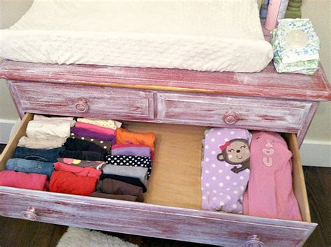 most efficient way to put clothes in drawers how i and organize all our baby clothes andrea dekker