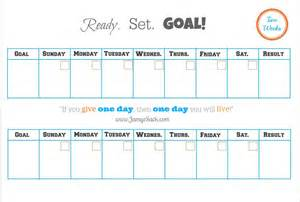 Two Week Calendar Template Free by Free Printable Two Week Goal Calendar Jamye Sack