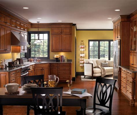 White Kitchen Island With Black Granite Top traditional cherry kitchen cabinets diamond cabinetry