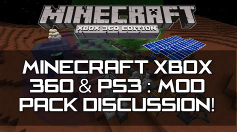 mods in minecraft xbox one edition minecraft xbox 360 ps3 tu16 mods discussion
