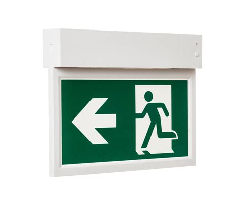 led exit sign telesto emergency lighting