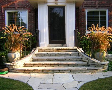 Front House Stairs Design Front Steps And Sidewalks Search Landscape Ideas Pinterest Front Steps Sidewalk