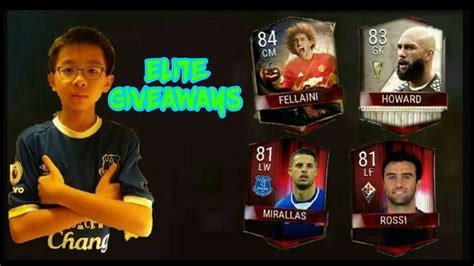 Fifa Mobile Giveaway - elite players giveaway pack opening fifa mobile youtube