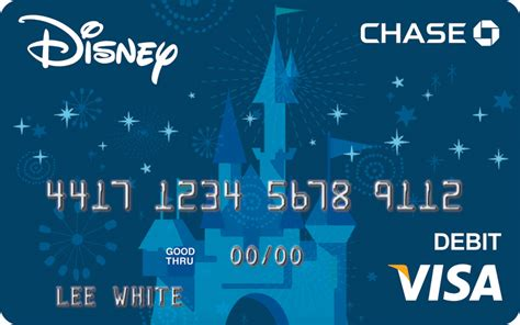 Visa Gift Card Chase - exclusive disney art featured on new visa debit card 171 disney parks blog