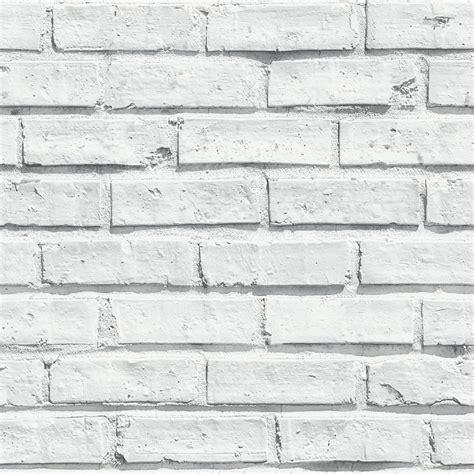 grey wallpaper wilkinsons arthouse wallpaper white brick at wilko com