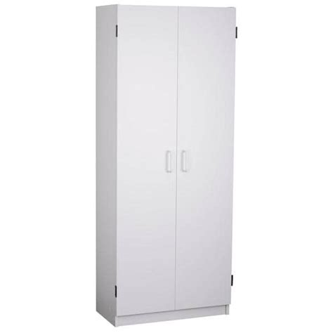 24 inch kitchen pantry cabinet altra flynn 24 inch kitchen pantry double door cabinet