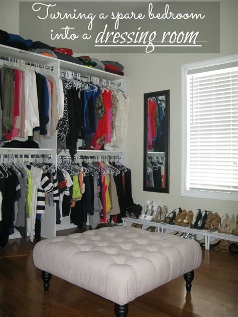 bedrooms on a budget diy turning a spare bedroom into a dressing room on a