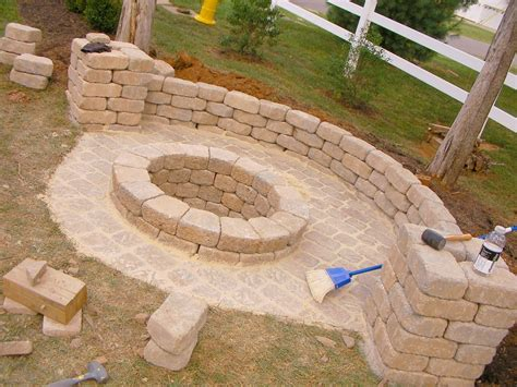 diy backyard firepit creatively luxurious diy fire pit project here to enhance